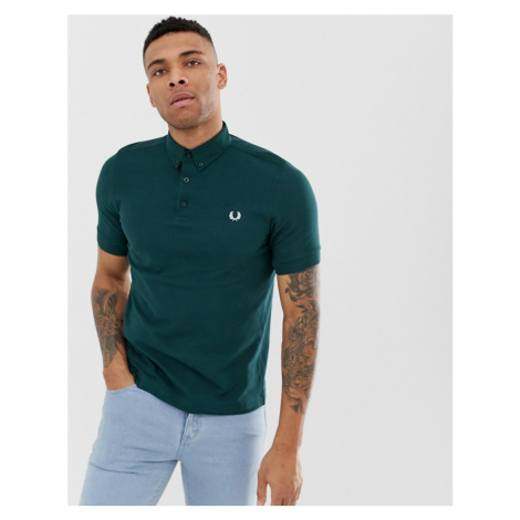 Fred Perry oxford polo in green