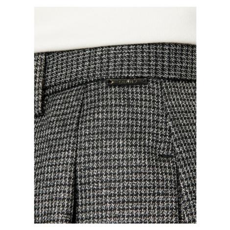 Liu Jo Szorty materiałowe WF0205 T4523 Szary Regular Fit
