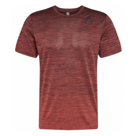 ADIDAS PERFORMANCE Koszulka funkcyjna nakrapiany czerwony