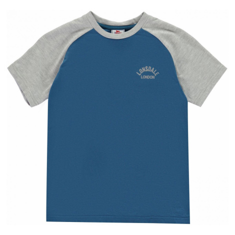 Lonsdale Raglan T Shirt Junior Boys