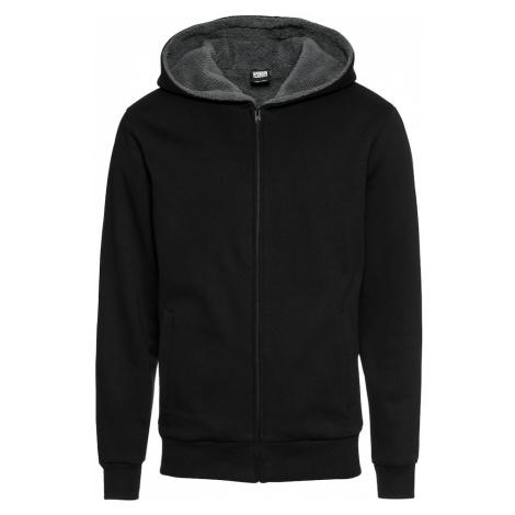 Urban Classics Bluza rozpinana szary / czarny