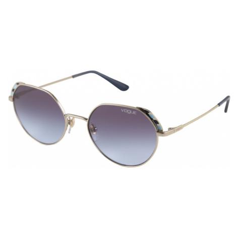 VOGUE Eyewear Okulary przeciwsłoneczne turkusowy / złoty / fioletowo-niebieski
