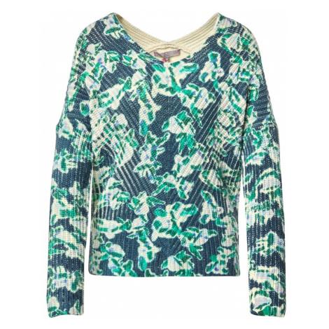 LIEBLINGSSTÜCK Sweter granatowy / zielony / jasnoniebieski / beżowy