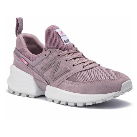 Sneakersy NEW BALANCE - WS574TEA Fioletowy