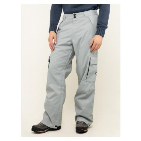 DC Spodnie snowboardowe Banshee EDYTP03047 Szary Regular Fit