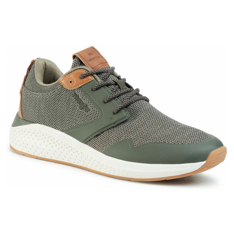 Sneakersy WRANGLER - Sequoia WM01072A Military 020