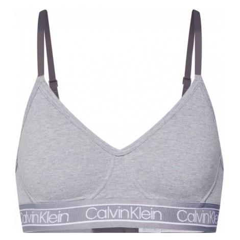 Calvin Klein Biustonosz nakrapiany szary / biały