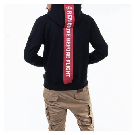 Bluza męska Alpha Industries RBF BackStripe Hoody 128375 03