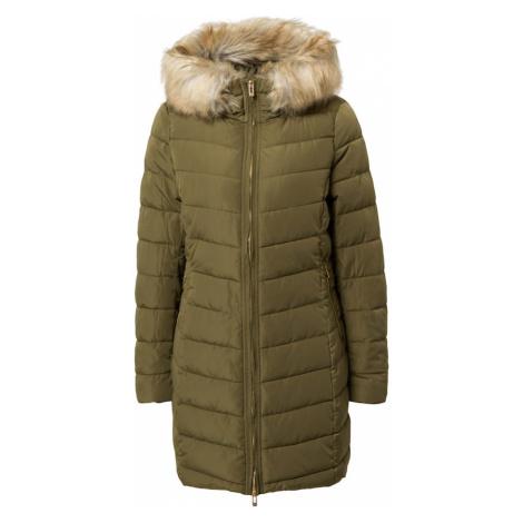 ONLY Płaszcz zimowy oliwkowy / beżowy