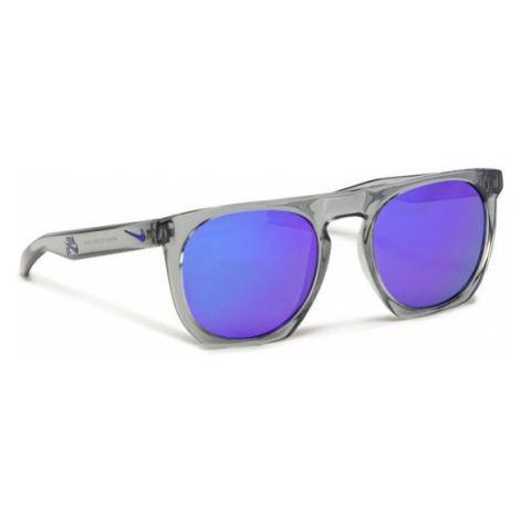 Nike Okulary przeciwsłoneczne Flatspot EV1045 015 Szary