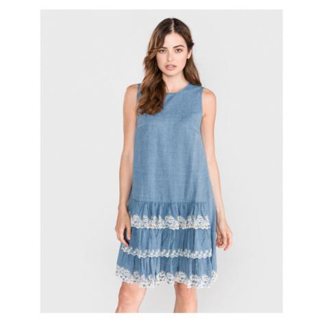 TWINSET Sukienka Niebieski