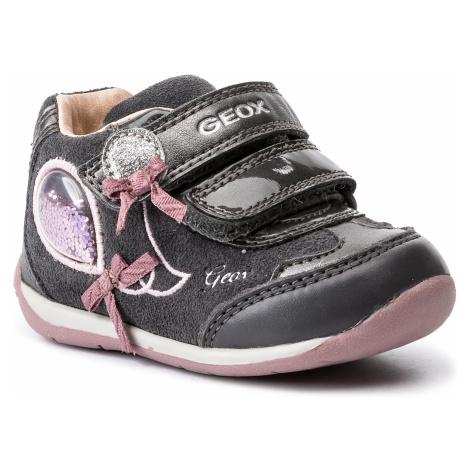 Sneakersy GEOX - B Each G. A-B940AA 02285 C0952 Dk Grey/Pink
