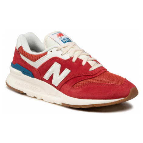 New Balance Sneakersy CM997HRG Czerwony