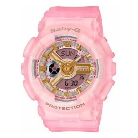 Baby-G Zegarek Urban BA-110SC-4AER Różowy