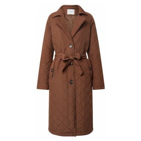JACQUELINE de YONG Płaszcz przejściowy 'TORA' brązowy