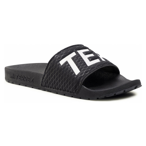 Klapki adidas - Terrex Adilette EG5129 Cblack/Ftwwht/Cblack