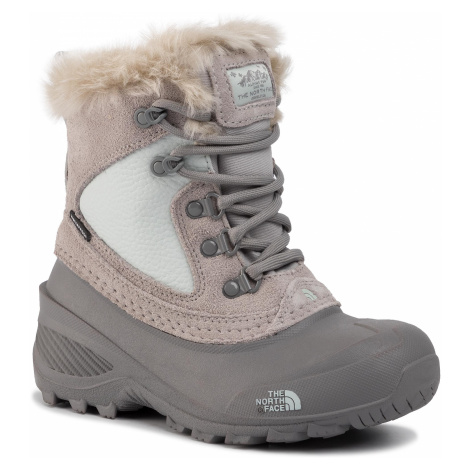 Śniegowce THE NORTH FACE - Youth Shellista Extreme NF0A2T5V5SV Foil Grey/Icee Blue