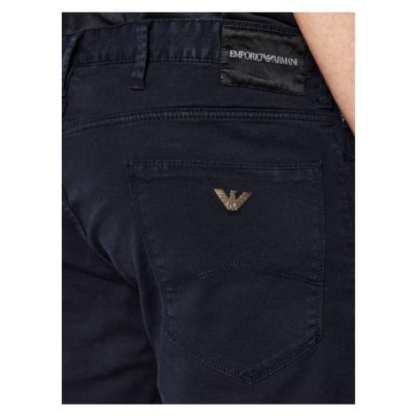 Emporio Armani Szorty jeansowe 3H1PA6 1N4ZZ 0922 Granatowy Slim Fit