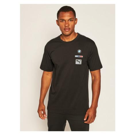 Puma T-Shirt Bmw Mms Street Tee 597974 Czarny Slim Fit