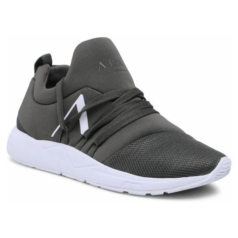 Sneakersy ARKK COPENHAGEN - Raven Mesh Pet S-E15 IL1406-2810-W Dark Army White