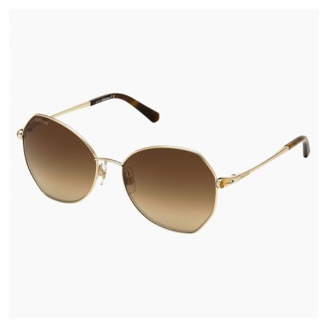 Okulary przeciwsłoneczne Swarovski, SK266 - 32G, brązowe