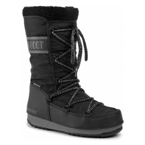 Moon Boot Śniegowce Monaco Wool Wp 240089001 Czarny