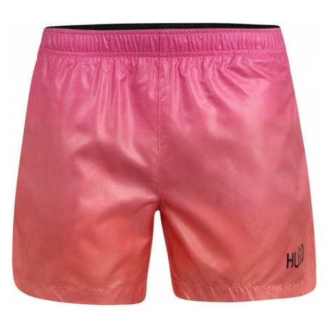 HUGO Szorty kąpielowe 'MALIBU' różowy / pomarańczowy Hugo Boss
