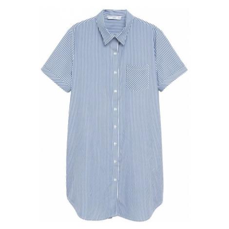 MANGO Sukienka błękitny