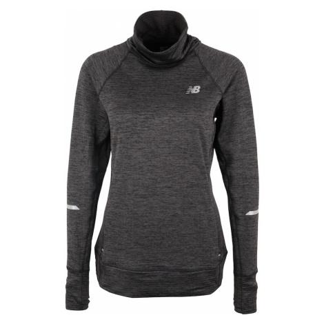 New Balance Sweter sportowy 'WT83246' ciemnoszary / czarny