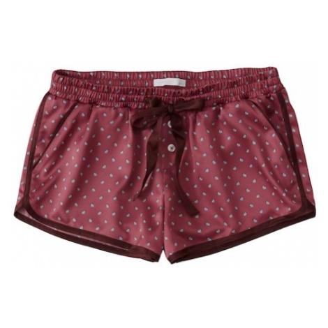 Abercrombie & Fitch Spodnie od piżamy malinowy