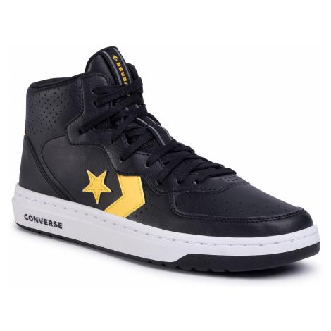 Sneakersy CONVERSE - Rival Mid 167082C Black/Amarillo/Black