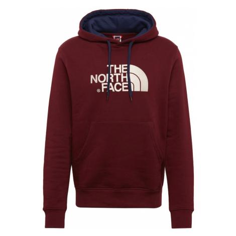 THE NORTH FACE Bluzka sportowa czerwone wino / biały