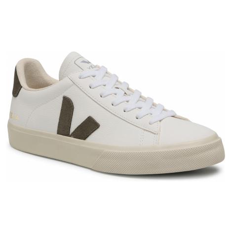 Sneakersy VEJA - Campo Chromefree CP052347B Extra White Kaki