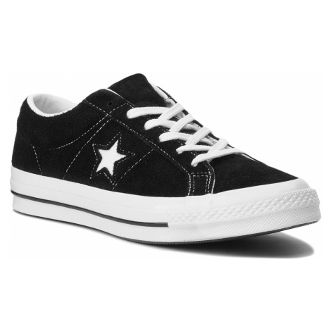 Tenisówki CONVERSE - One Star Ox 158369C Black/White/White
