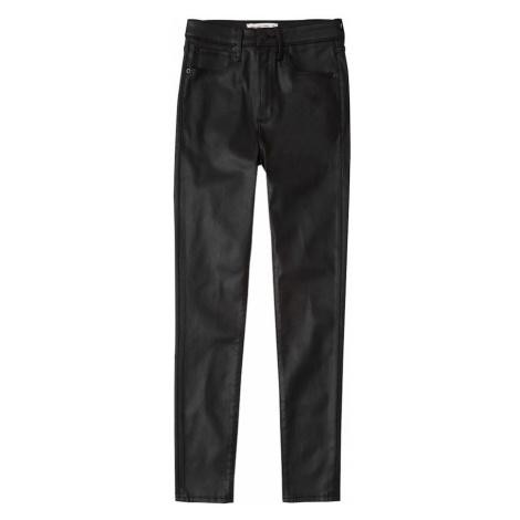 Abercrombie & Fitch Jeansy czarny denim