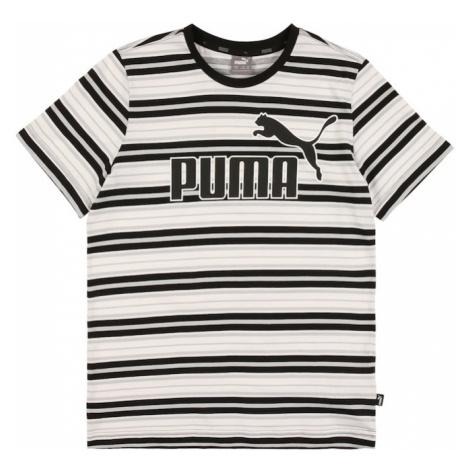 PUMA Koszulka czarny / biały