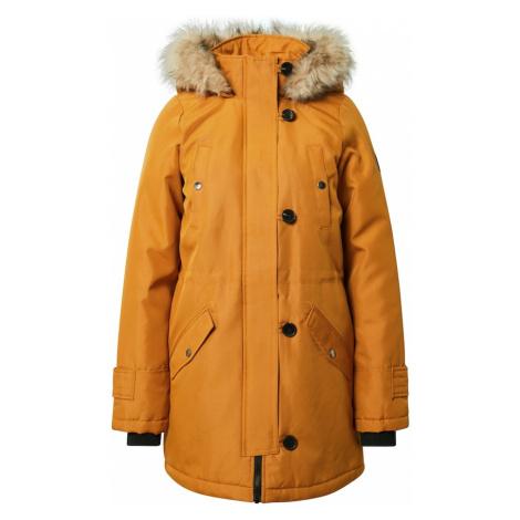 VERO MODA Płaszcz zimowy 'Excursion' żółty
