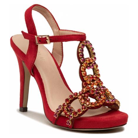 Sandały MENBUR - 22438 Red 0007