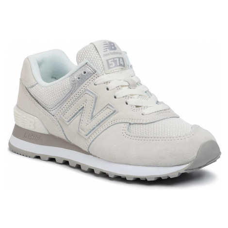 Sneakersy NEW BALANCE - WL574EX Beżowy