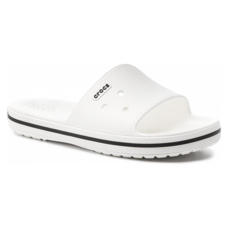 Klapki CROCS - Crocband III Slide 205733 White/Black