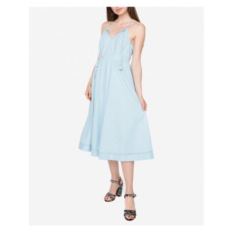 Juicy Couture Dobby Sukienka Niebieski