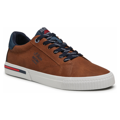 Sneakersy S.OLIVER - 5-13630-26 Cognac 305