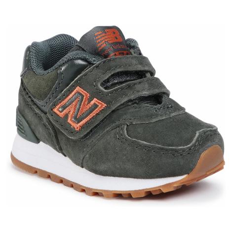 Sneakersy NEW BALANCE - IV574PGO Zielony