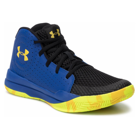 Buty UNDER ARMOUR - Ua Gs Jet 2019 3022121-404 Blu