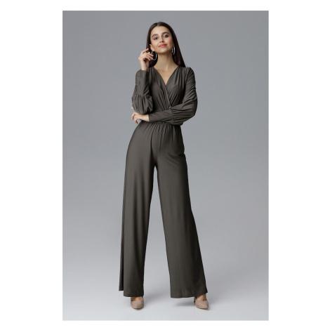 Figl Woman's Jumpsuit M619 Olive