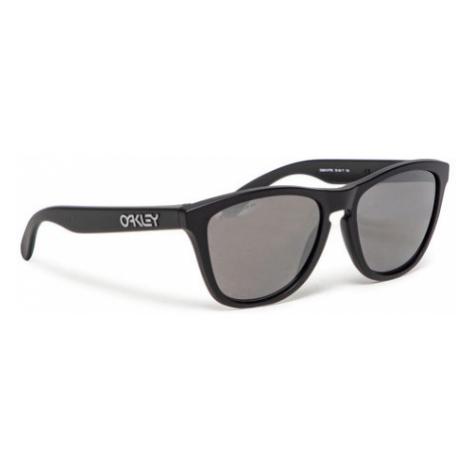Oakley Okulary przeciwsłoneczne Frogskin 0OO9013-F755 Czarny