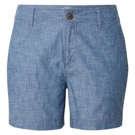 GAP Chinosy 'V-5 IN SHORT CHAMBRAY' indygo
