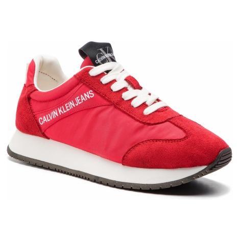 Sneakersy CALVIN KLEIN JEANS - Jill R8069 Tomato