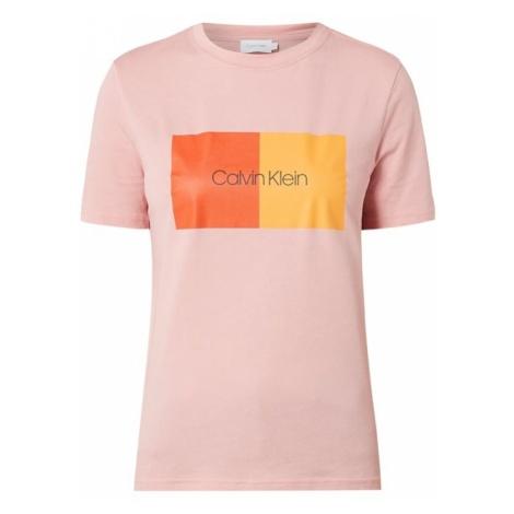 T-shirt z nadrukiem z logo Calvin Klein