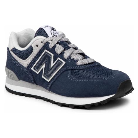 Sneakersy NEW BALANCE - PC574GV Granatowy